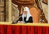 Святейший Патриарх Кирилл: Нет необходимости увеличивать число епархиальных отделов социальной направленности