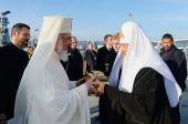 Святейший Патриарх Кирилл прибыл в Бухарест