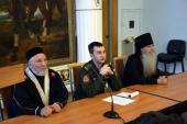 Сборы штатного военного духовенства прошли в Екатеринбурге
