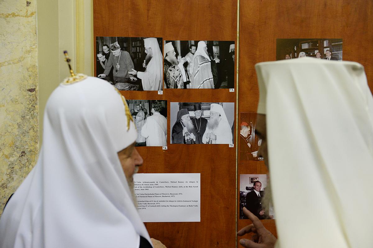 Визит Святейшего Патриарха Кирилла в Румынию. Заседание Священного Синода Румынской Православной Церкви