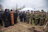 В Санкт-Петербургской епархии заложен парк в честь военного духовенства