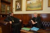 Председатель ОВЦС провел переговоры с главой Евангелической церкви в Германии