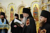 Слово архимандрита Феофана (Данченкова) при наречении во епископа Волжского и Сернурского