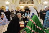 Состоялось наречение архимандрита Феофана (Данченкова) во епископа Волжского и архимандрита Игнатия (Суранова) во епископа Мариинско-Посадского