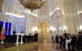 Святіший Патріарх Кирил відвідав державний прийом в Кремлі з нагоди Дня народної єдності