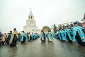 Solemnitățile ăn cinstea Icoanei Maicii Domnului de Kazan au avut loc în capitala Tatarstanului