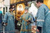 Престольный праздник на приходе в честь явления иконы Божией Матери «Всех скорбящих Радость» возглавил Патриарший экзарх всея Беларуси