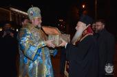 В Виннице торжественно встретили ковчег с мощами святого великомученика Димитрия Солунского