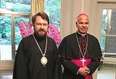 Председатель ОВЦС встретился с апостольским нунцием в Японии
