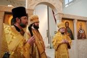 Руководитель Управления Московской Патриархии по зарубежным учреждениям посетил Гаагскую епархию
