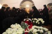 В Феодоровском монастыре в Переславле-Залесском состоялось отпевание игумении обители Варвары (Чекотковой)