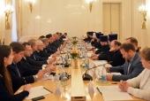 Состоялось XXII заседание Рабочей группы по взаимодействию Русской Православной Церкви и МИД России