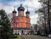 Патриаршее служение в день памяти святителя Тихона, Патриарха Московского и всея России, в Донском ставропигальном монастыре