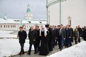 Президент Росії, Святіший Патріарх Кирил і голова Уряду Росії відвідали Ново-Єрусалимський ставропігійний монастир