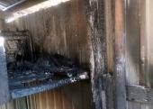 Совершен поджог на территории храма в Киеве