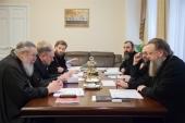 A fost creat grupul de lucru pentru realizarea proiectelor comune ale Departamentului Sinodal pentru învățământul religios și catehizare și Editura Patriarhiei Moscovei