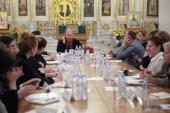 Синодальный отдел по взаимоотношениям Церкви с обществом и СМИ провел совещание руководителей православных общественных организаций