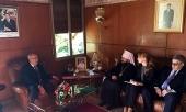 Состоялась встреча митрополита Волоколамского Илариона с министром хабусов и исламских дел Марокко