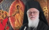 Поздравление Святейшего Патриарха Кирилла Блаженнейшему Архиепископу Тиранскому Анастасию с 45-летием архиерейской хиротонии