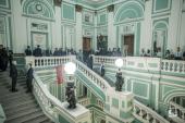 Ректор Санкт-Петербургской духовной академии выступил на юбилейном собрании Императорского Русского военно-исторического общества