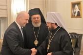 Председатель Отдела внешних церковных связей встретился с заместителем премьер-министра, министром здравоохранения Ливана