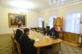 Москву посетила делегация Эфиопской Церкви