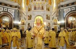 В день своего рождения Святейший Патриарх Кирилл совершил Божественную литургию в Храме Христа Спасителя