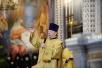 Торжественное богослужение в Храме Христа Спасителя в день рождения Святейшего Патриарха Кирилла. Хиротония архимандрита Игнатия (Суранова) во епископа Мариинско-Посадского