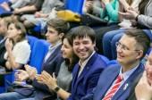Председатель Синодального отдела по делам молодежи принял участие в награждении победителей Первого фестиваля студенческих проектов «Вера и дело»