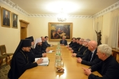 Состоялась встреча председателя Отдела внешних церковных связей с Архиепископом Кентерберийским Джастином Уэлби