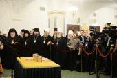 В Москве состоялась презентация книги цитат Святейшего Патриарха Кирилла «Мысли. Высказывания. Суждения» и сайта «Патриарх говорит»