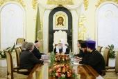 Состоялась встреча Святейшего Патриарха Кирилла с председателем Фонда «Призыв совести»