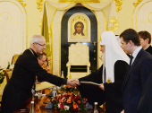 Встреча Святейшего Патриарха Кирилла с Архиепископом Кентерберийским Джастином Уэлби