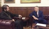 Председатель ОВЦС встретился с депутатом Государственной Думы России Анатолием Карповым