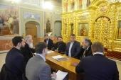 Руководитель Департамента культурного наследия Москвы посетил Черниговское Патриаршее подворье