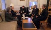Митрополит Волоколамский Иларион встретился с главой межрелигиозного Фонда «Призыв совести»