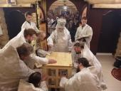 В карельском поселке Чална освящен построенный силами прихожан Михаило-Архангельский храм