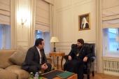 Председатель ОВЦС встретился с послом Румынии в России