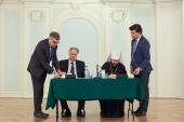 Подписано соглашение о сотрудничестве между Общецерковной аспирантурой и докторантурой и Московской государственной консерваторией