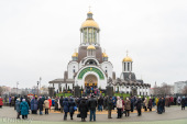 Кафедральный собор в честь Рождества Христова освящен в Солигорске