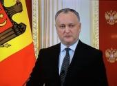 Приветствие Президента Республики Молдова И.Н. Додона участникам Архиерейского Собора Русской Православной Церкви