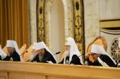 Доповідь Святішого Патріарха Кирила на Архієрейському Соборі Руської Православної Церкви (29 листопада 2017 року)
