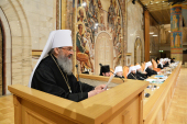 На заседании Архиерейского Собора выступил Блаженнейший митрополит Киевский и всея Украины Онуфрий