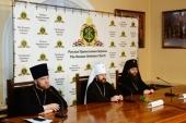 Состоялся брифинг, посвященный ситуации в связи с обращением бывшего митрополита Киевского Филарета