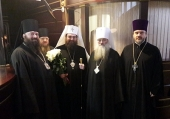 Предстоятель Православной Церкви Чешских земель и Словакии прибыл в Москву