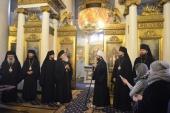 Блаженнейший Архиепископ Албанский Анастасий посетил московский храм иконы Божией Матери «Всех скорбящих Радость» на Большой Ордынке
