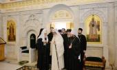 Состоялась встреча Святейшего Патриарха Кирилла с Блаженнейшим Патриархом Румынским Даниилом