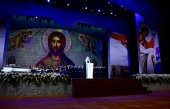 В Государственном Кремлевском дворце прошел праздничный концерт, посвященный 100-летию восстановления Патриаршества в Русской Церкви