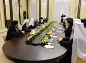 Встреча Президента России В. В. Путина с Предстоятелями и представителями Поместных Православных Церквей