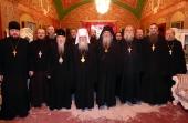 В Троице-Сергиевой лавре прошло последнее в 2017 году пленарное заседание Синодальной богослужебной комиссии
